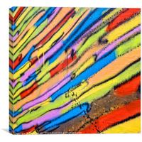 Street abstract, Canvas Print