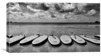 Surfboards, Canvas Print