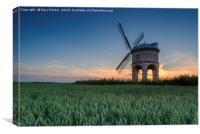 Chesterton Windmill at sunset, Canvas Print