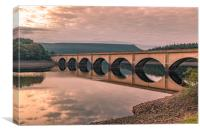 Ashopton Bridge., Canvas Print