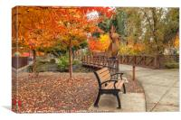Yountville in  Autumn 2, Canvas Print