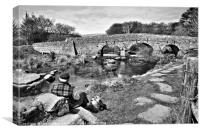 Postbridge, Canvas Print
