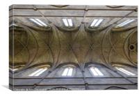 Church Ceiling, Canvas Print
