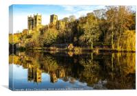 Reflections at Durham Cathedral, Canvas Print