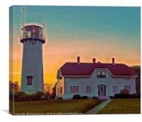 I want to marry a lighthouse keeper, Canvas Print