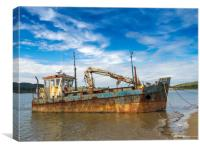 The Vicky Leigh Fishing Boat., Canvas Print