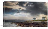 Stormy Sky at Penmon Point, Anglesey., Canvas Print