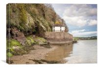 Boathouse at Laugharne - Dylan Thomas, Canvas Print