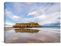 St Catherine's Island, Tenby., Canvas Print