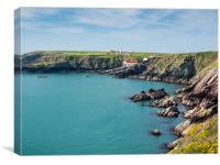 St Justinian's in Pembrokeshire., Canvas Print