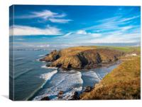 Nolton Haven, Pembrokeshire, Wales., Canvas Print