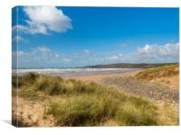 Freshwater West. Pembrokeshire, Wales., Canvas Print