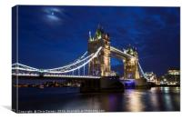 Tower Bridge in London, Canvas Print