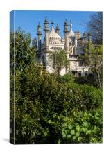Royal Pavilion in Brighton, Canvas Print