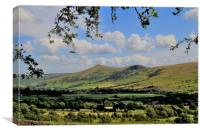 Mam Tor from Edale, Canvas Print