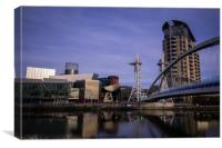 Lowry Salford Quays , Canvas Print