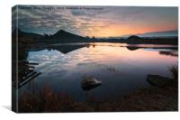 Cawfield Quarry , Canvas Print