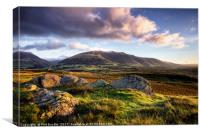 Low Rigg View, Canvas Print