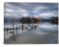 Crow Park Gate Keswick, Canvas Print