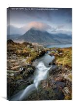 Tryfan Moon, Canvas Print