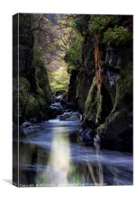 Fairy Glen Betws-y-Coed, Canvas Print