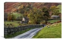 Autumn in Martindale, Canvas Print