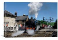 Southern Railway No 825 at Grosmont, Canvas Print