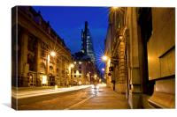The Cheesegrater, Canvas Print