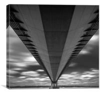 The Humber Bridge, Canvas Print