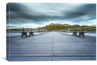Saltburn by the Sea, North Yorkshire, Canvas Print