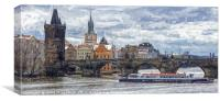 King Charles Bridge Prague                       , Canvas Print