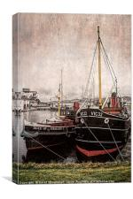 Boats with History                        , Canvas Print