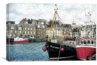 Harbour at Pittenweem, Canvas Print