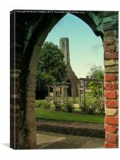 Leaning Tower of Kings Lynn, Canvas Print