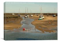 Wells-next-the-Sea - Harbour ( 2 ) , Canvas Print