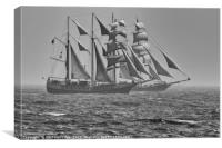 Tall Ships in Torbay, Canvas Print