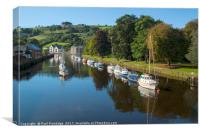 River Dart and Vire Island, Canvas Print