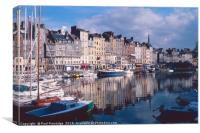 Honfleur, Normandy, Canvas Print