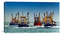 Trawler Race Finish, Canvas Print