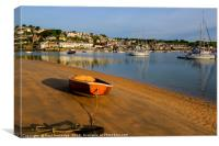 Salcombe from East Portlemouth, Canvas Print