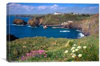 Mullion Cove, Cornwall, Canvas Print