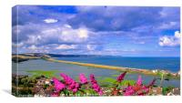 Slapton Ley and Torcross, Canvas Print