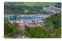 Looking Down on Dartmouth, Canvas Print