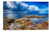 Stormy Skies over Torbay, Canvas Print