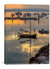 Brixham Outer Harbour, Canvas Print