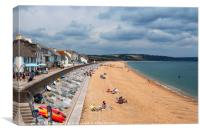 Slapton Sands, Torcross, Canvas Print
