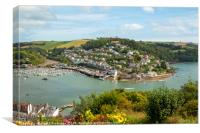 Kinggswear, Devon, Canvas Print
