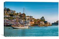 Kingswear, Devon, Canvas Print