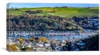 Dartmouth in the Autumn, Canvas Print