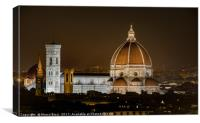 The Duomo of Florence, Canvas Print